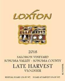 2018 Late Harvest Viognier